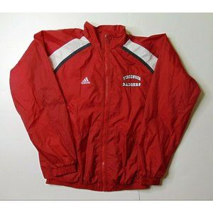 Vintage Adidas S Wisconsin Badgers Jacket Red